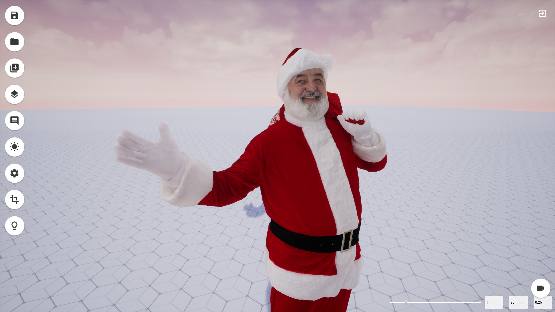 8k 3d model with realistic, photo-scanned textures to AR & VR in 3 minutes (Xmas edition)